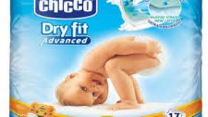 chicco pannolini dry fit taglia 5x17 kg 12-25